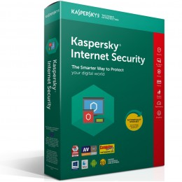 Internet Security: Kaspersky Internet Security 5PC 1jaar