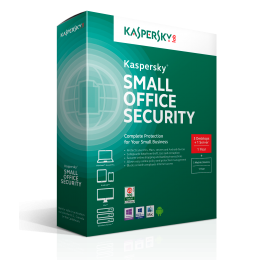 Kaspersky Small Office Security 4PC+1FS 1jaar