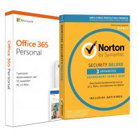 Voordeelbundel: Office 365 + Norton Security Standard