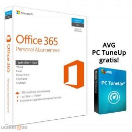 Microsoft: Microsoft Office 365 Personal 1PC 1Jaar