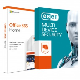 Office: Voordeelbundel: Office 365 Home + ESET Multi Device Security 5 apparaten 1 jaar