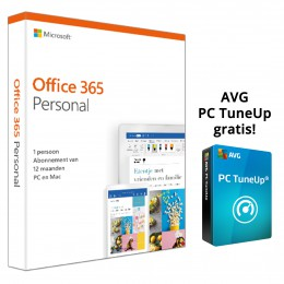 Office: Microsoft Office 365 Personal 1PC 1Jaar
