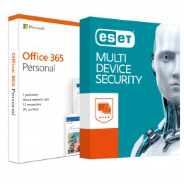 Office: Voordeelbundel: Office 365 Personal + ESET Internet Security 1 apparaat 1 jaar