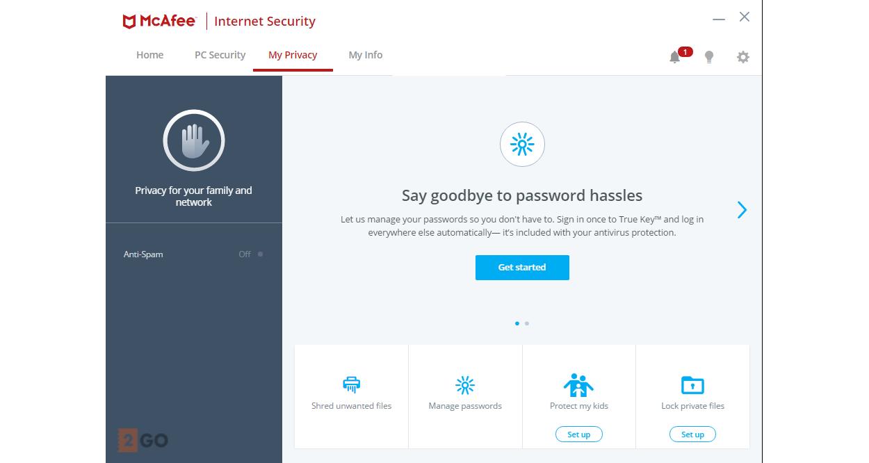 McAfee Internet Security 2019 | 3Apparaten - 1jaar | Windows - Mac - Android - iOS