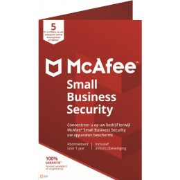 Business IT Security: McAfee Small Business Security 2020 5 Devices 1year