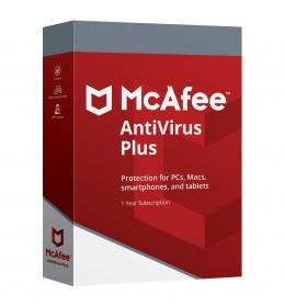 McAfee AntiVirus Plus 1apparaat 1jaar