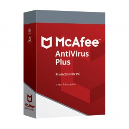 McAfee AntiVirus Plus 2020 3devices 1year