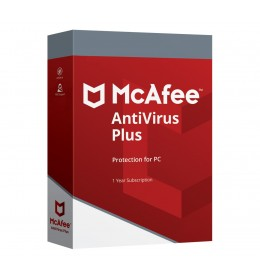 McAfee AntiVirus Plus 2020 1device 1year