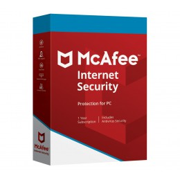 McAfee Internet Security 3PCs 1year