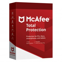 Security: McAfee Total Protection Multi-Device 10Devices 1year 2020