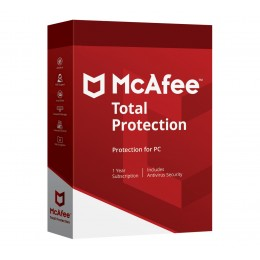 McAfee Total Protection 5PC 1jaar - Windows