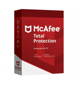 McAfee Total Protection 3PC 1jaar