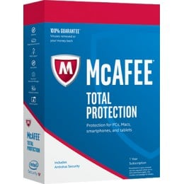 McAfee Total Protection 10 apparaten 1jaar