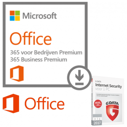 Microsoft Office 365 Business Premium + G-Data (gratis)