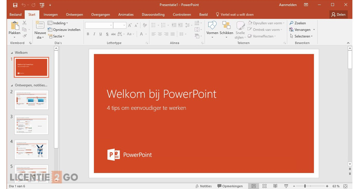 Voordeelbundel: Office 365 Personal + ESET Internet Security Multi Device 5 apparaten 1 jaar