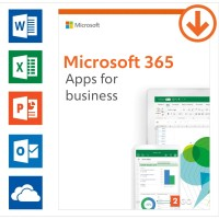 Office: Microsoft 365 apps for business Annual subscription | 1User | 15 Devices