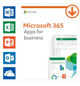 Microsoft 365 apps for business Annual subscription | 1User | 15 Devices