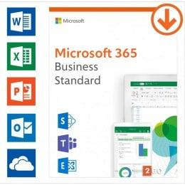 Business: Microsoft 365 Business Standard | Annual subscription | 1User | 15 Devices