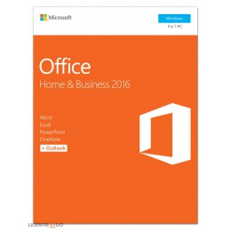 Office products: Microsoft Office 2016 Home & Business 1PC Windows