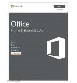 Microsoft Office for Mac 2016 Home & Business 1Mac