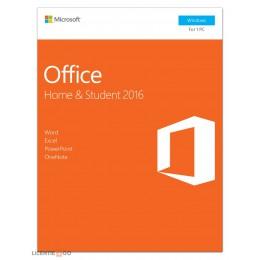Microsoft: Microsoft Office 2016 Home & Student 1PC Windows