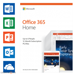 Office for Mac: Microsoft Office 365 Home 6Users 1year