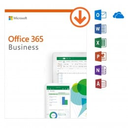 Office: Microsoft Office 365 Business - jaarabonnement - 1Gebruiker - 5Apparaten