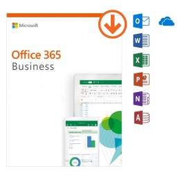 Office 365: Microsoft Office 365 Business - jaarabonnement - 1Gebruiker - 5Apparaten