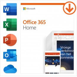 Office for home use: Microsoft Office 365 Home 6Users 1year