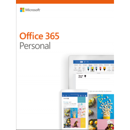 Office for home use: Microsoft Office 365 Personal 1User 1year