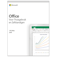 Microsoft Office 2019 Thuisgebruik & Zelfstandigen Windows + Mac