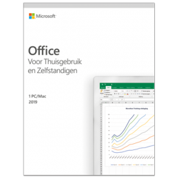Kantoor: Microsoft Office 2019 Thuisgebruik & Zelfstandigen Windows + Mac