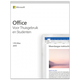 Office: Microsoft Office 2019 Thuisgebruik & Student Windows + Mac