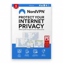 Security: NordVPN 6 devices
