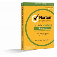 Norton Security Standard 1-PC/MAC 1jaar