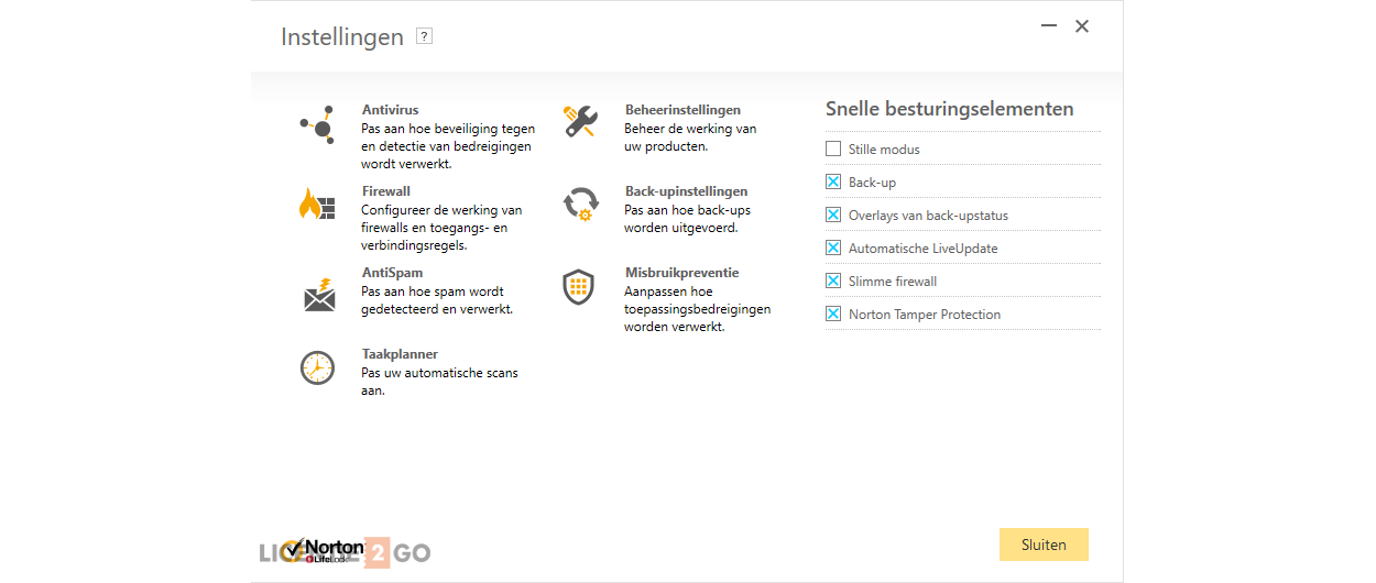 Norton Security Premium 10-Apparaten + 25GB Backup 1jaar 2020 - Antivirus inbegrepen - Windows | Mac | Android | iOS
