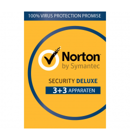 Norton Security Deluxe 6-Apparaten 1jaar 2019 - Antivirus inbegrepen - Windows | Mac | Android | iOS