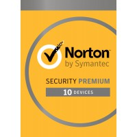 Internet Security: Norton Security Premium 2020 - 10-Devices + 25GB Backup 1year