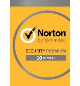 Norton Security Premium 10-Devices + 25GB Backup 1year