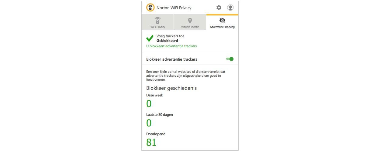 Norton WiFi Privacy 1-Apparaat 1 jaar