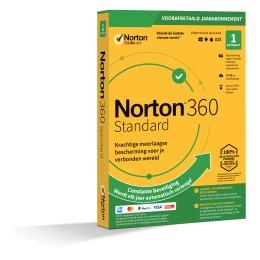 Norton 360: Norton 360 Standaard | 1Apparaat - 1Jaar | Windows - Mac - Android - iOS | 10Gb Cloud Opslag