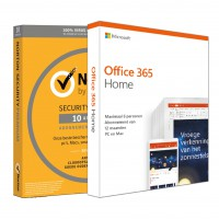 Voordeelbundel: Norton Security Premium 10-apparaten + Office 365 Home 6-apparaten