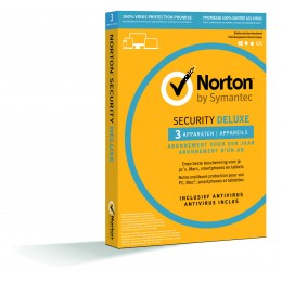 Norton Security Deluxe 3-Devices 1year (Back2School sale)