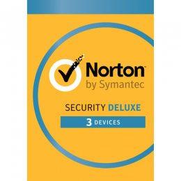 Total Security: Norton Security Deluxe 3-Devices 1year 2019 - Antivirus Included - Windows | Mac | Android | iOs