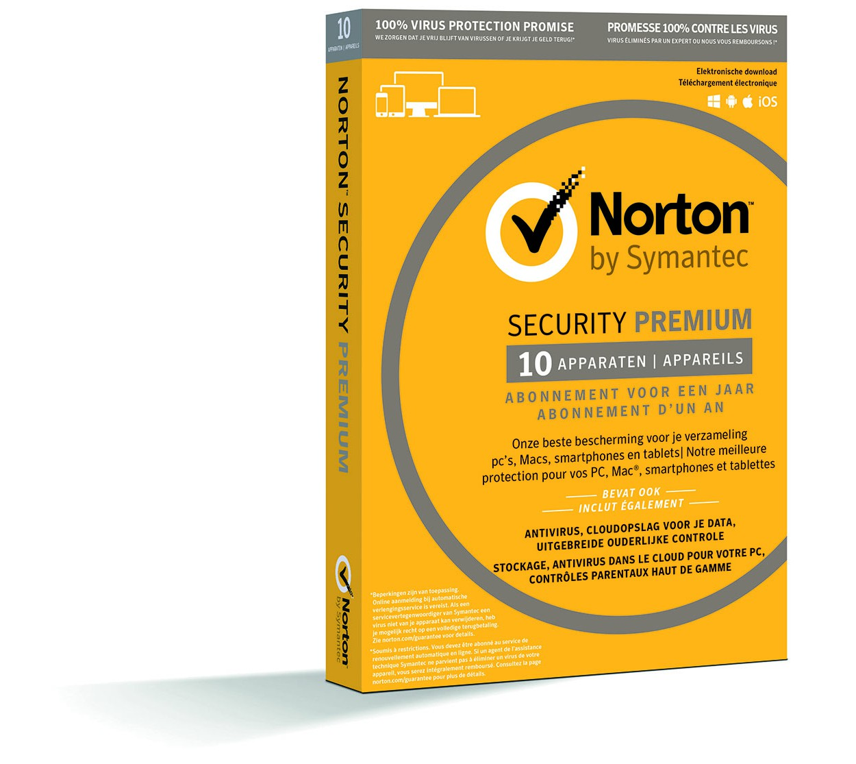 Norton Security Premium - Box Windows Mac Android