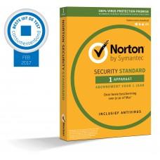Norton Security Standaard 1-Apparaat 1jaar