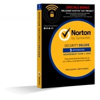 Norton Security Deluxe + WiFi Privacy 5-Apparaten 1jaar 2019