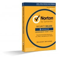 Norton Security Deluxe 5-Apparaten 1jaar
