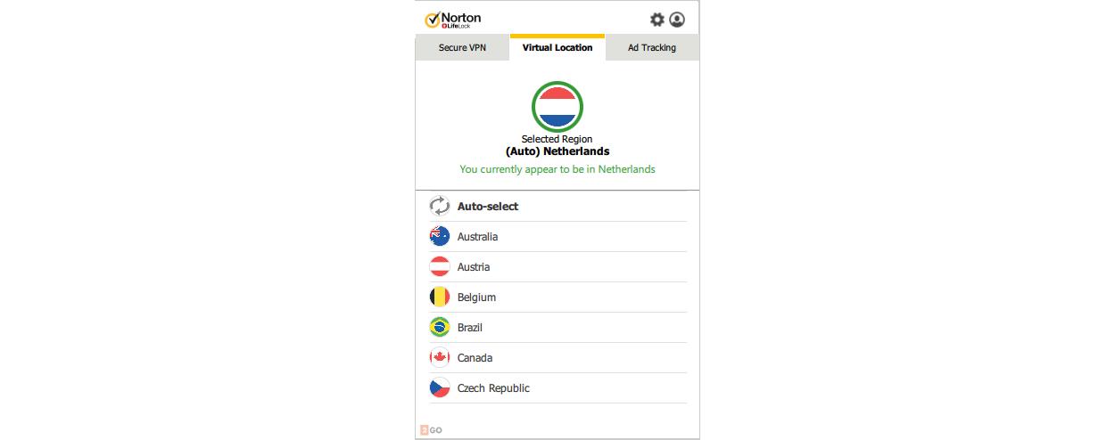 Norton WiFi Privacy 1 Device 1year