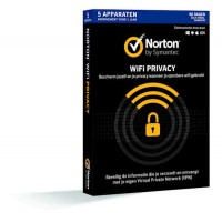 Norton WiFi Privacy 5-Apparaten 1 jaar